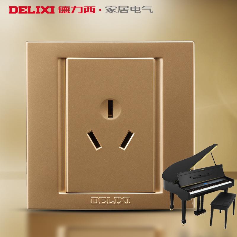 Электрическая розетка Delixi  86 CD810 16A