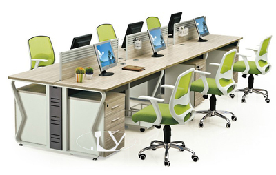 Chun Yue computer desk staff card position 4 digit combination cabinet furniture with new hot DZ20