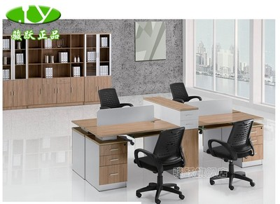 Chun Yue new episode staff office computer desk office desk fashion combo card bit YD150-2