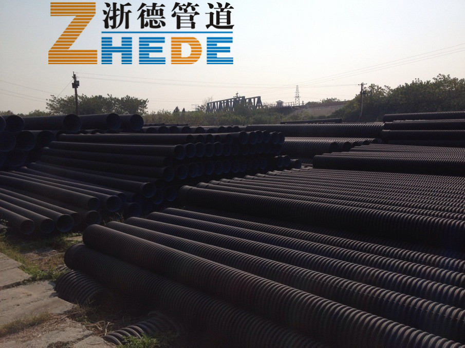 Труба полиэтиленовая Zhe Tak  HDPE SN4SN8 200