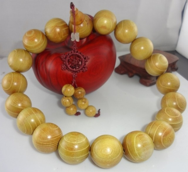 Hainan gold wooden beads hanging with 3cm19 particle eye lines for gold property in wood