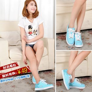 Spring/summer fighter 2013 new stylish sneaker casual shoes ZSH1326