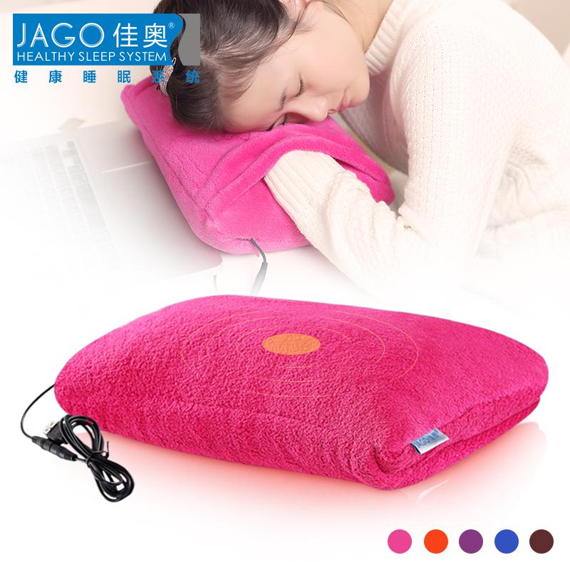 Подушка декоративная Подлинное мини-USB Отопление прекрасные лежа НПД подушку подушки подушка подушки Обложка теплую руку подушку пакет почты