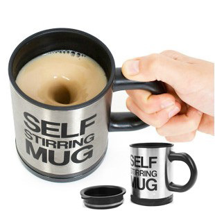 Bluw lazy home automatic stirring lazy mug Cup stainless coffee cup preferred postage