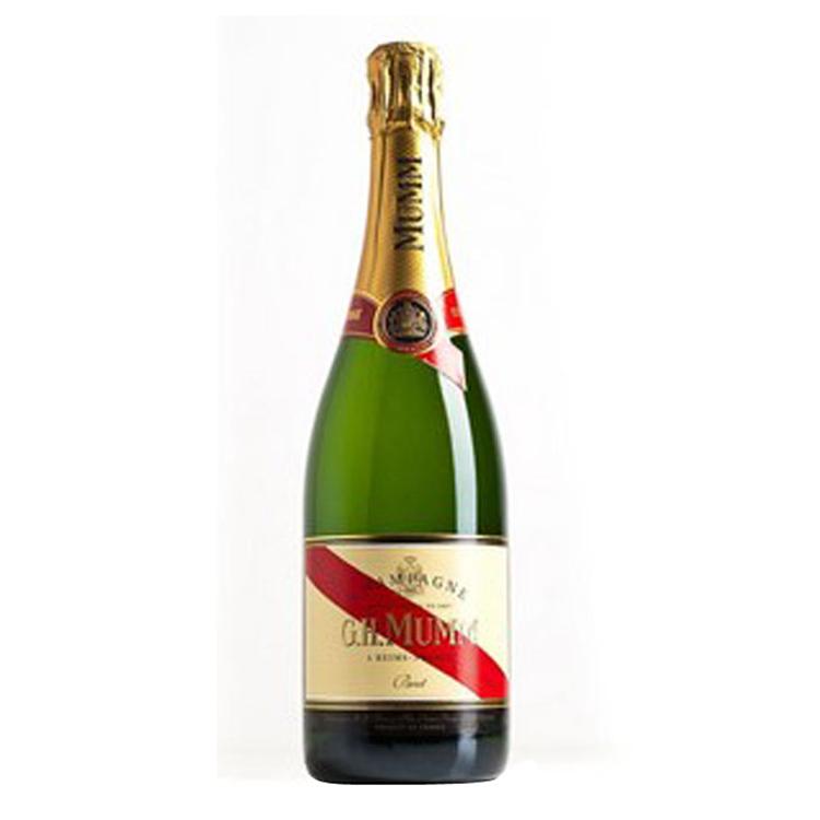 法国香槟区玛姆红带香槟高泡葡萄酒 G.H. Mumm Champagne