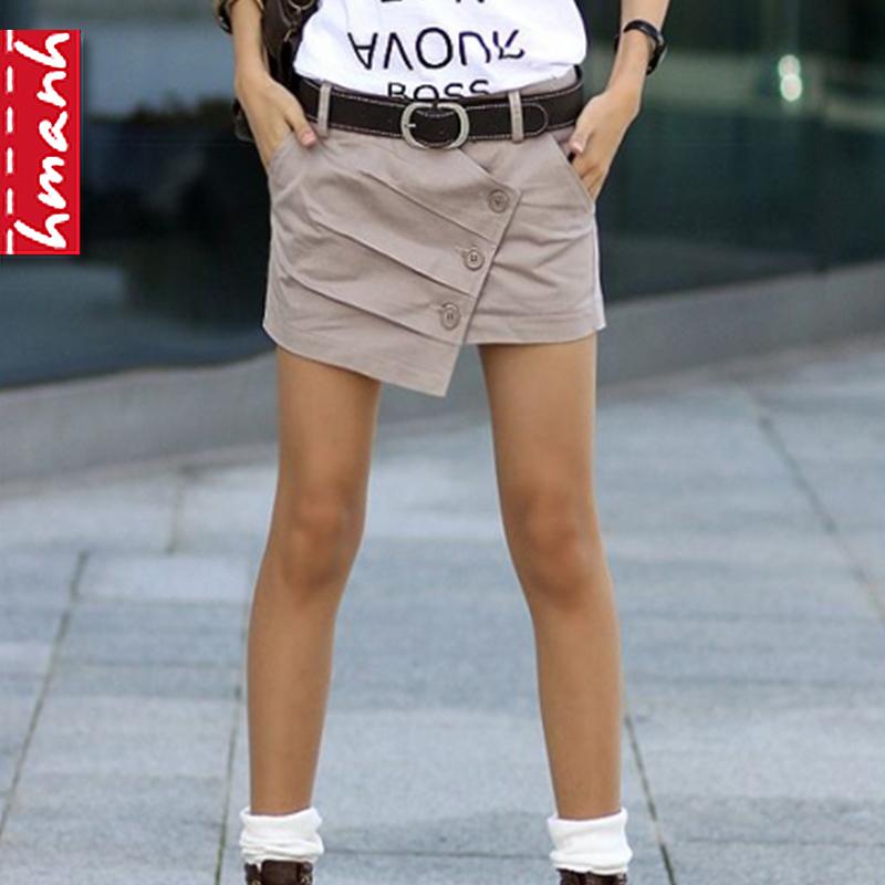 Женские брюки Hmanh kz2o6 2013 KZ206 Шорты, мини-шорты Другая форма брюк Повседневный 2013 года, Весна 2013 Разное Пуговицы