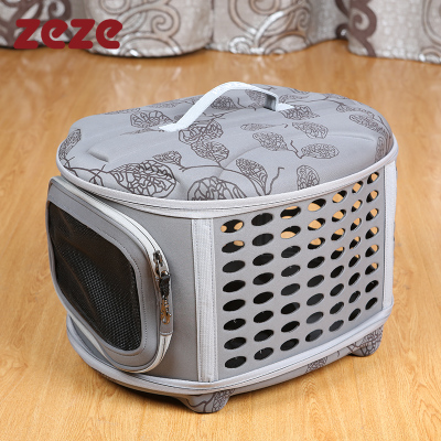 Universal acclaim rebate ZEZE out portable air box checked airplane travel puppy pet cat backpack
