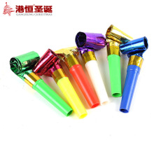 Christmas party party supplies/noise/sound whistle, whistle/tornado blowing 20 g (6)