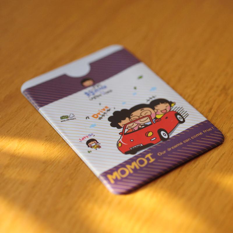 Подарки 卡套/可爱银行卡包/双面卡夹/身份证套证件套