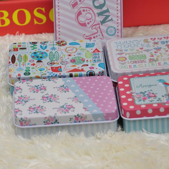 马口铁 喜糖盒 很漂亮的五款小铁盒