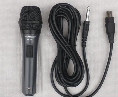Free shipping wired microphone microphone karaoke OK home DVD player with 2.1 computer boxes KTV singing microphone