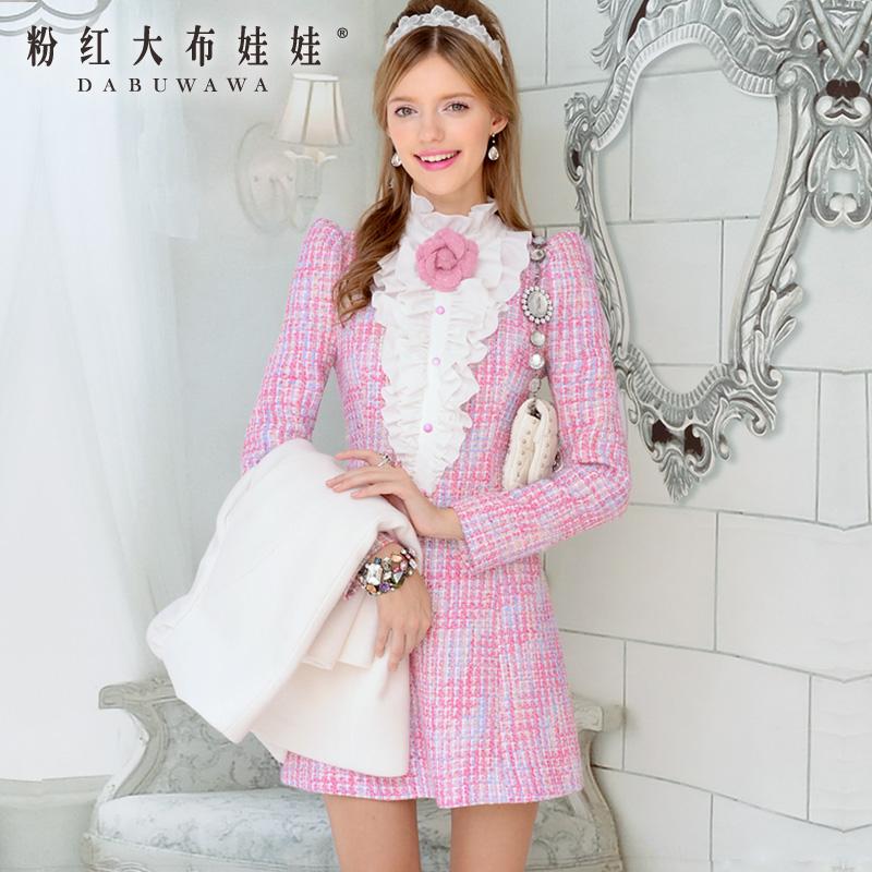 Женское платье Big pink cloth doll t39mr 2013