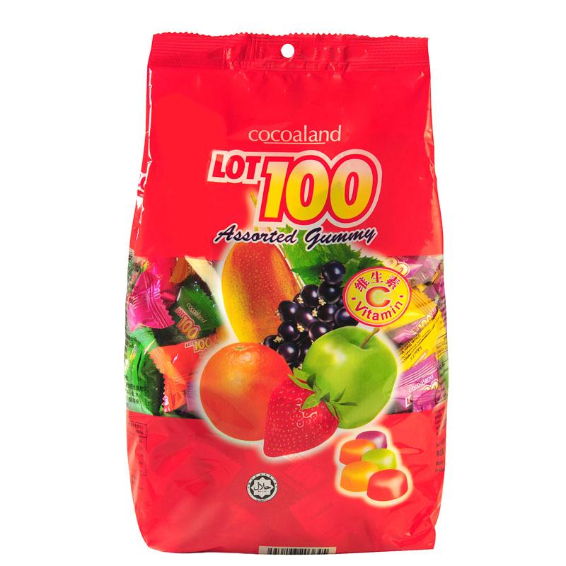 【包邮】一百份/lot100杂果果汁软糖 什果Q软糖1000g喜糖果橡皮糖