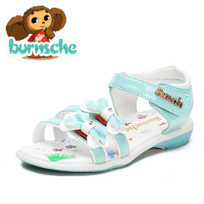 burnsche2014 summer new shoes girls sandals Children's sandals Princess shoes Korean tidal shipping Limited