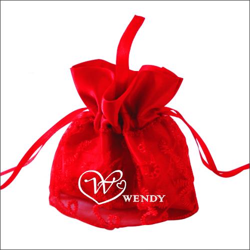 香耐尔2013欧式创意喜糖袋婚礼纱袋结婚喜糖盒婚庆回礼包装袋中号