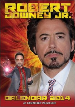 Robert Downey Jr 2014 Calendar