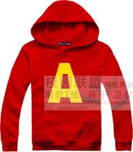 Alvin and the chipmunks Alvin and the chipmunks Alvin film TV drama Iron man hoodies autumn and winter Brushed fleece