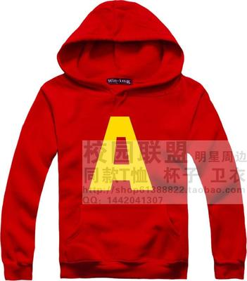 Alvin and the chipmunks Alvin and the chipmunks Alvin film TV drama Iron man hoodies autumn and winter Brushed fleece