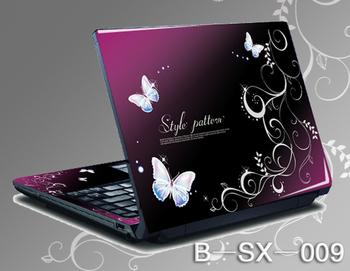 益优家 三面全包笔记本炫彩贴膜 保护膜 贴纸 美容贴 电脑贴图片