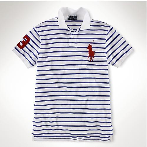 Рубашка поло Классический Поло XXL короткий рукав рубашки поло 3 макси полосы хлопка мужчин короткий рукав белый