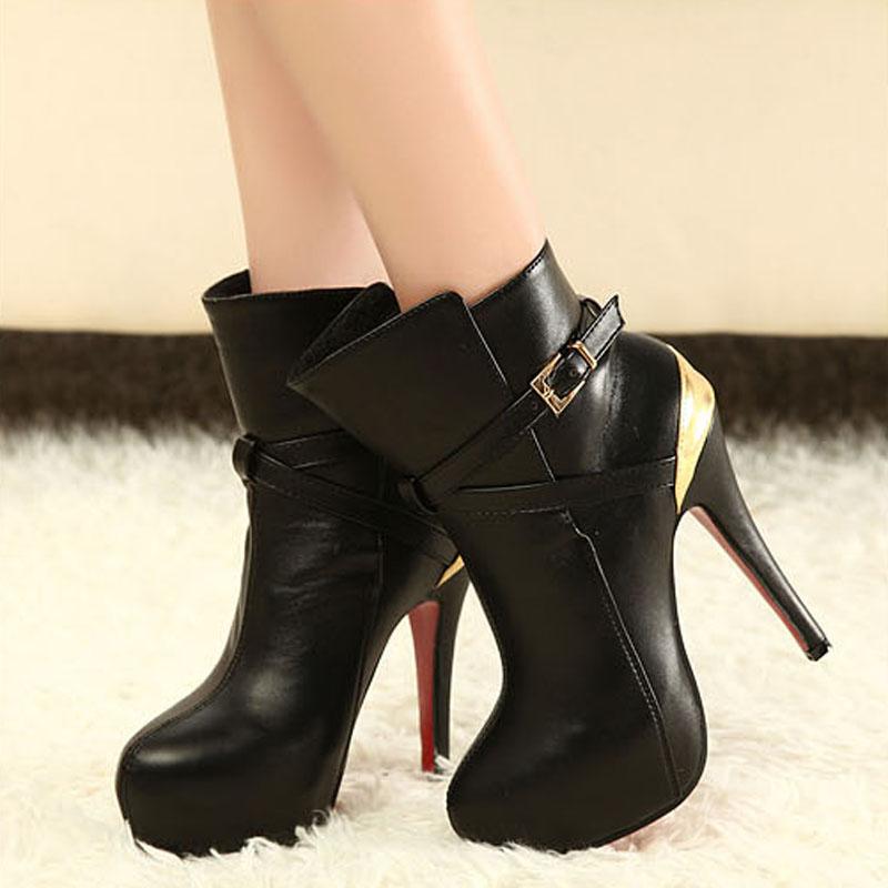 【多图】2012细跟<font color=red>短靴子</font> - 2012细跟<font color=red>短靴子</font>品