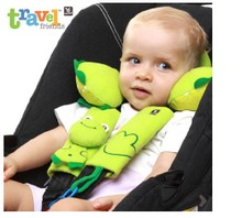 Children Benbat baby infant car wear seat belt pad injury cases frog/chicken two paragraphs together