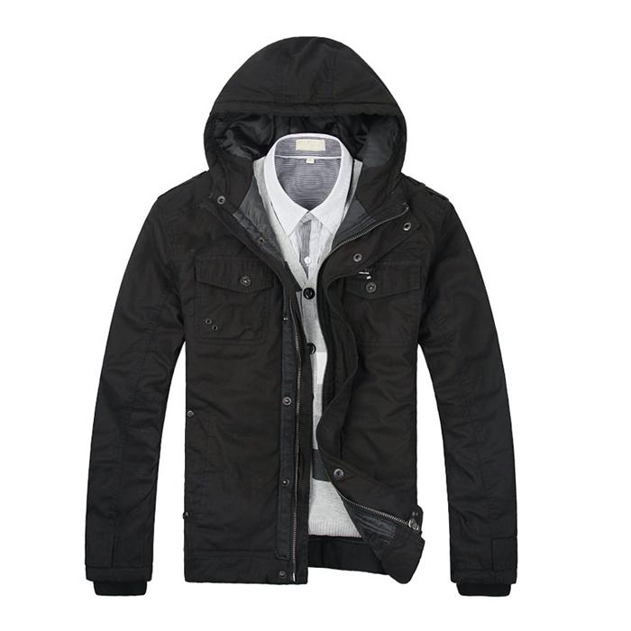 Куртка Mr cotton s5542 Хлопок Молния Короткая (до пояса и выше) Прямой покрой