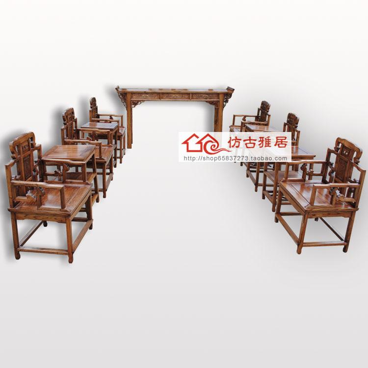 Диван из массива дерева Жонтан три нефа кресло набор мебели Tenon статьи 11 песчаных фигур