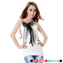 Women's new spring and summer 2013 women's new female chest wrapped Slim Korean tide ladies knit halter Bra Women