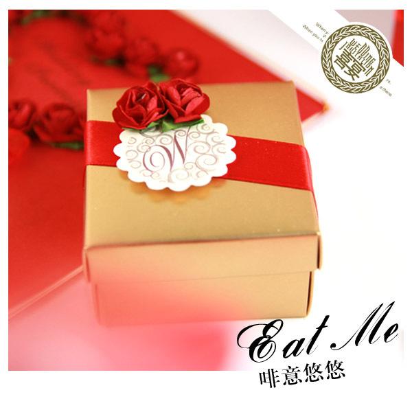 酷蜜喜品★西式正红系结婚喜糖/喜糖盒/喜糖袋