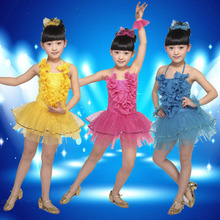 The new special price 2013 children's ballet Dance clothing stage costumes children's dance skirt dress