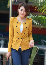 Korean style casual cardigan slim small suit jacket