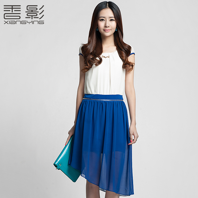 2013 women new chiffon dress