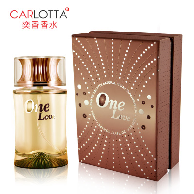 Counter genuine men's fragrance lasting light fragrance cologne France Yi Xiang CARLOTTA temptation 100ml free shipping