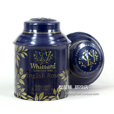 Britain's one hundred Whittard Of Chelsea English rose tea Eu tower blue cans AnWei tower