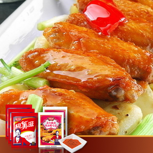极美滋咸香 新奥尔良烤鸡翅腌制料 kfc专用烤肉调料 咸香酱料500g