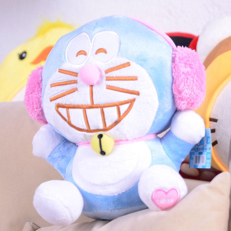 包邮 正版哆啦A梦公仔机器猫叮当猫毛绒玩具布娃娃结婚生日礼物