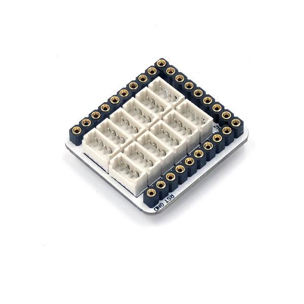 【Microduino】Module Sensor Hub 传感器连接模块