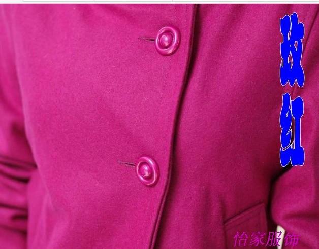 женское пальто Осень 2012 Короткая (40 см<длина одежды≤50 см) Длинный рукав Классический рукав