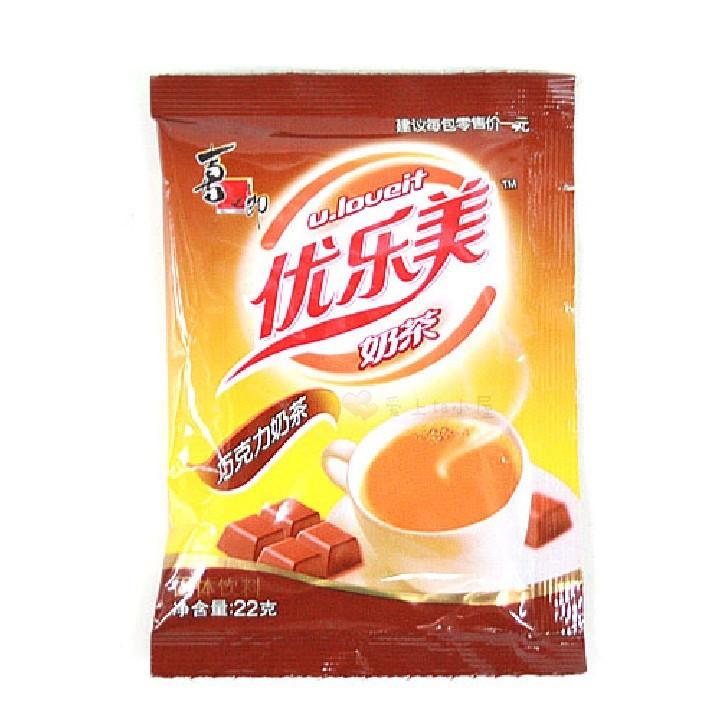 喜之郎优乐美巧克力味奶茶22g