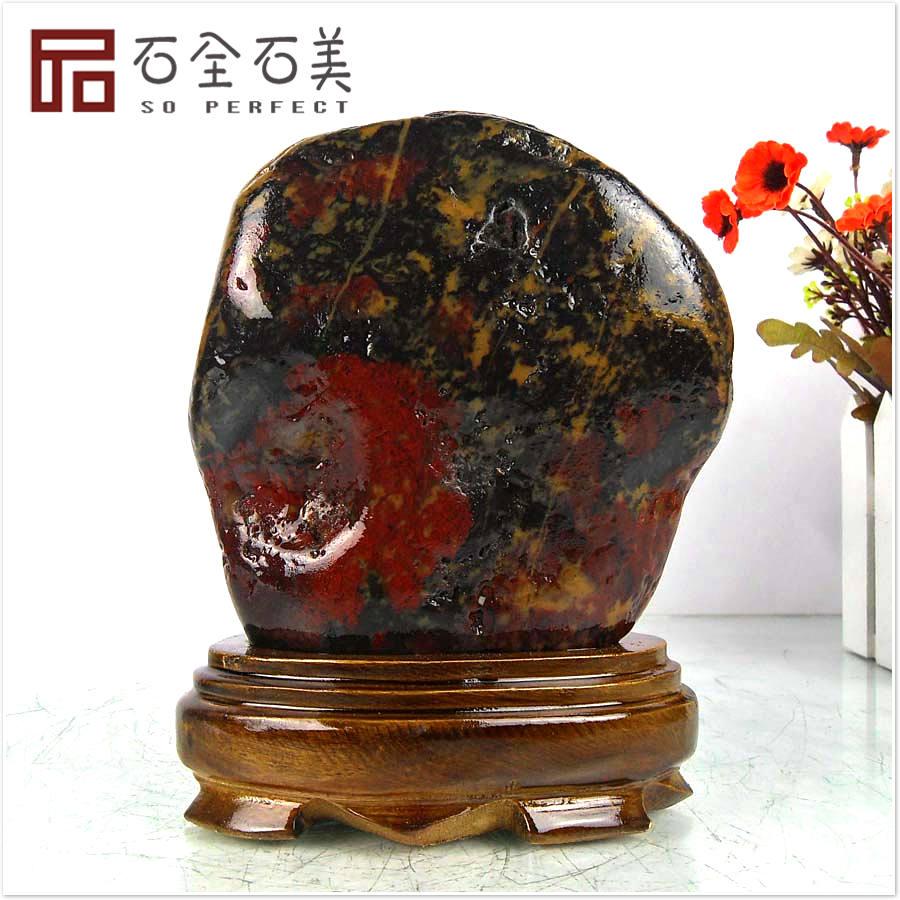 Сувениры и украшения из пирофиллита Курица крови красных Джаспер природные каменные украшения бутик камень базы декоративного камня каменные коллекции для отправки почты