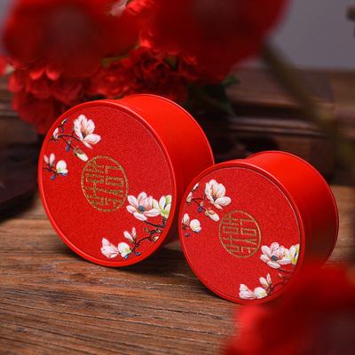 文弘尚品/中国风结婚喜糖盒子铁盒创意伴手礼盒中式婚礼喜糖礼盒