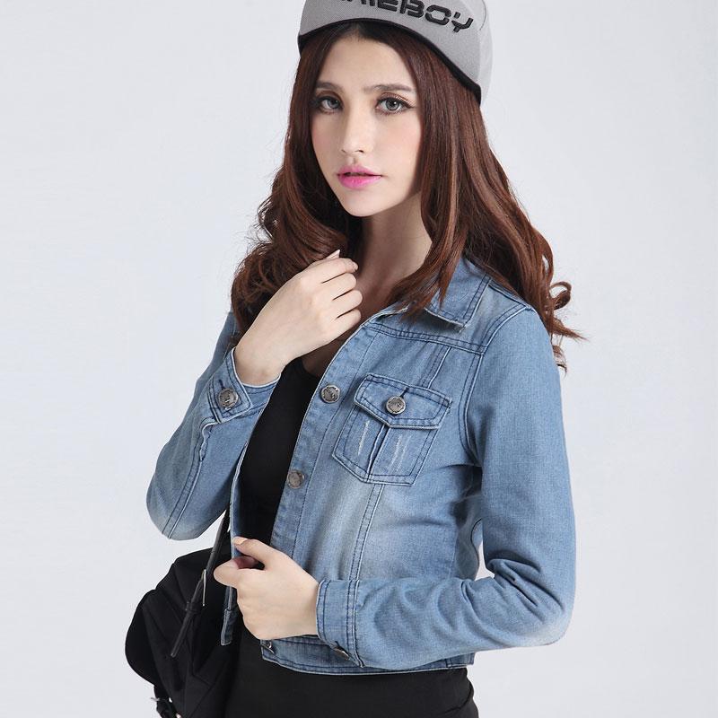 Короткая куртка Pretty girl denim 6218 2013