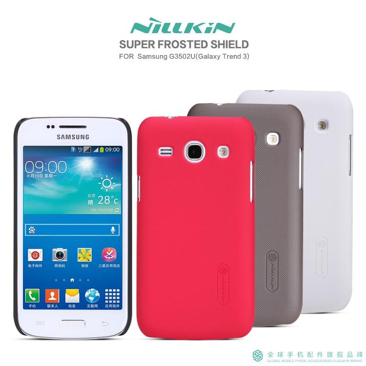Чехлы, Накладки для телефонов, КПК Nile gold Samsung G3502U (Galaxy Trend 3)