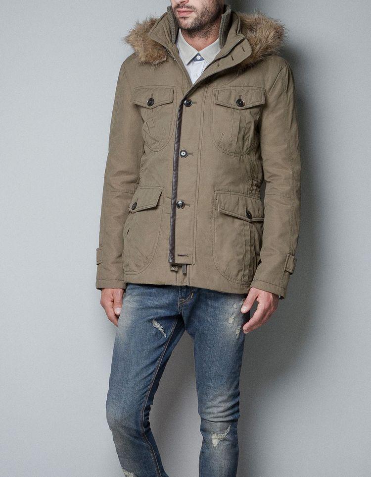 Куртка ZARA 12 Средней длины (до середины бедра и ниже)