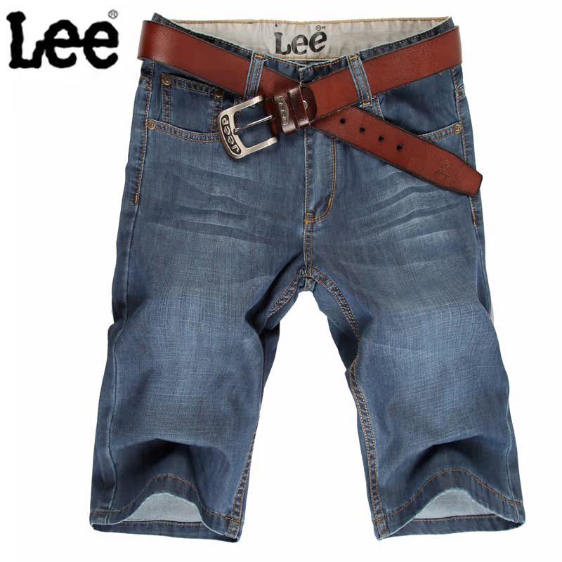 Джинсы мужские Jeans 8010 2013 LEE Тонкая джинсовая ткань