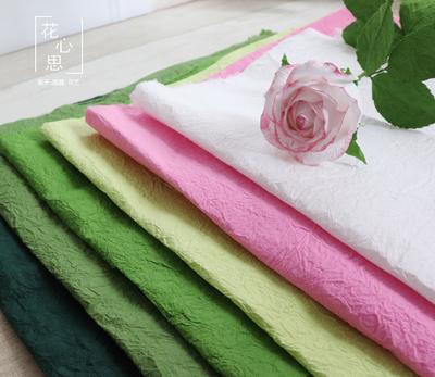 梨子纸藤 高档进口纸花材料 仿真花纸