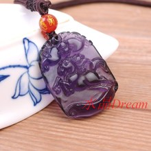 Packages mailed 2015 separate medallion amethyst horse zodiac pendant necklace roars fortun men and women lovers payments