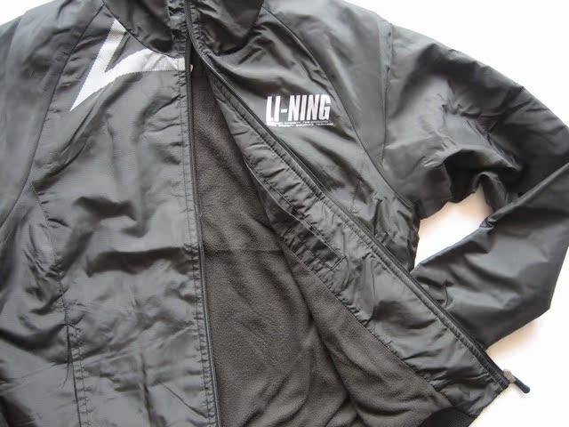 Спортивная куртка Lining 1jmc418/3 Tmall 1JMC418-3 Женские Отложной воротник Молния Для спорта и отдыха Логотип бренда Удерживающая тепло