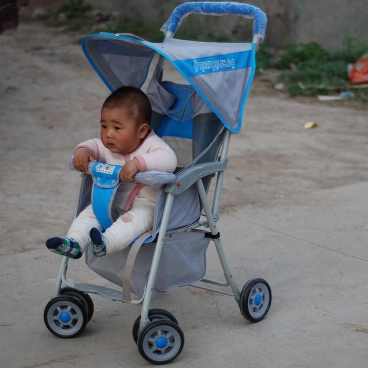 金宝QQ2超轻便婴儿推车四轮儿童车伞车折叠平躺 不是圣得贝不包邮 推荐